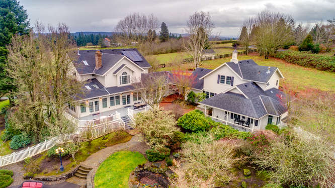 Real Estate Horse Property With Arenas Oregon
